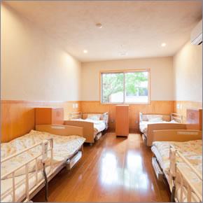 施設の特徴 寝室